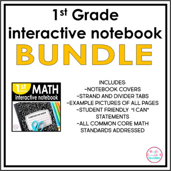 1st Grade Interactive Notebook BUNDLE {ELA & MATH}