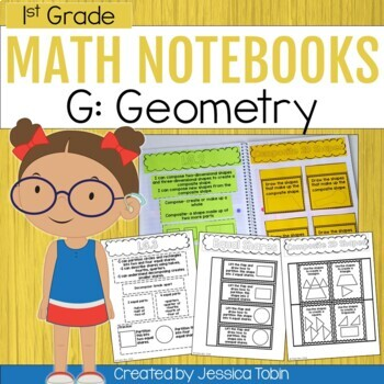 Geometry- 1st Grade Math Interactive Notebook