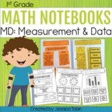Measurement and Data- 1st Grade Math Interactive Notebook