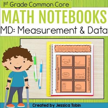 Measurement and Data- 1st Grade Math Interactive Notebook