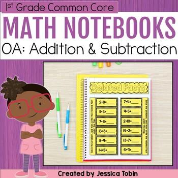 1st Grade Interactive Notebook- Operations and Algebraic Thinking