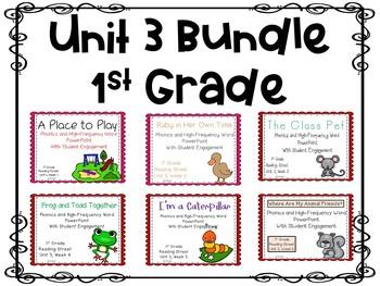 1st Grade Interactive Powerpoints, Unit 3, Reading Street
