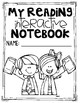 1st Grade Interactive Reading Journal Notebook CCSS Aligned