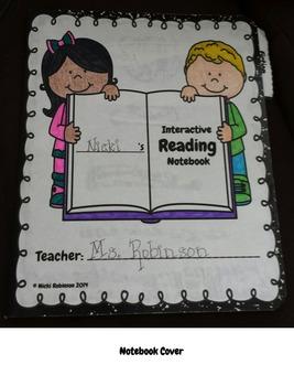 1st Grade Interactive Reading Notebook Kit - TEKS Aligned