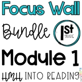 1st Grade Into Reading Module 1 Focus Wall Posters Bundle