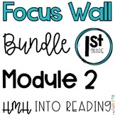1st Grade Into Reading Module 2 Focus Wall Posters Bundle