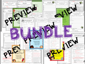 1st Grade Journey's Comprehension Pack: Unit 6 BUNDLE