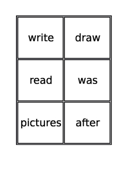 1st Grade Journey's Vocab Matching Game Lesson 9