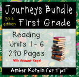 ALL YEAR 1st Grade Journeys Bundle: Units 1 - 6 Supplemental Activities ©2014