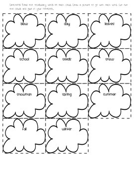 1st Grade Journeys Lesson 13 Interactive Notebook Pages