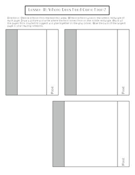 1st Grade Journeys Lesson 18 Interactive Notebook Pages