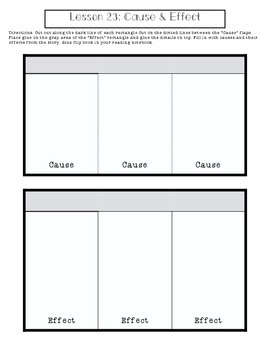 1st Grade Journeys Lesson 23 Interactive Notebook Pages