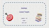 1st Grade Journeys Lesson Objectives