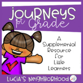 Lucia's Neighborhood Supplement Activities 1st Grade Journeys (Unit 1, Lesson 4)