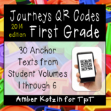 1st Grade Journeys QR Codes for Listening Centers