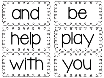 1st Grade Journeys Sight Word Cards for the Entire Year!