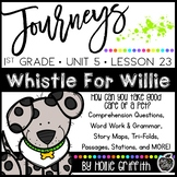 1st Grade Journeys Supplement {Unit 5, lesson 23, Whistle
