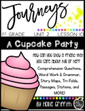 1st Grade Journeys Supplemental Resource {Unit 2, Lesson 10, A Cupcake Party}