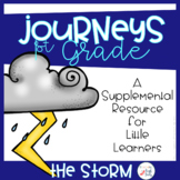 The Storm Supplement Activities Journeys First Grade (Unit 1, Lesson 2)