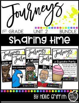 1st Grade Journeys Unit 2 Bundle (Supplemental Resource)