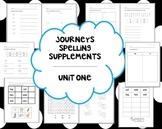 1st Grade Journeys Unit 2 Spelling