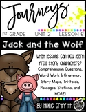 1st Grade Journeys Supplement {Unit 2, Lesson 6, Jack and