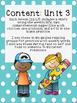 1st Grade Journeys Unit 3, HFW Stories