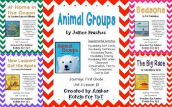 1st Grade Journeys: Unit 3 Supplemental Activities