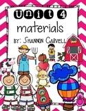 1st Grade Journeys Unit 4 Bundle
