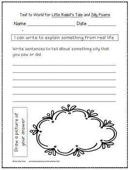 1st Grade Journeys: Unit 4 Supplemental Activities