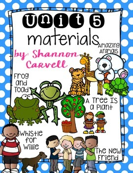 1st Grade Journeys Unit 5 Bundle