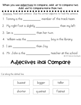 1st Grade Journeys Unit 6 Weekly Skills Flip books
