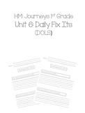 1st Grade Journeys Unit 6 Daily Fix Its (DOLS)