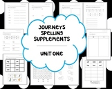 1st Grade Journeys Units 1-6 Spelling Bundle