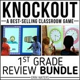 1st Grade End of Year Review [Knockout Math + ELA Bundle]