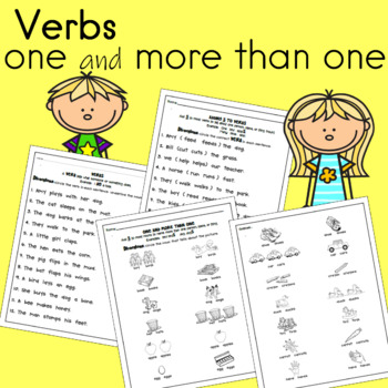 First Grade Language Arts Worksheets (10 pages) | TpT