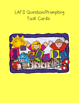 1st Grade LAFS Question/Prompting Task Cards