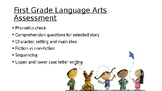1st Grade Language Arts Assessment