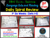 1st Grade Language Arts & Reading Daily Spiral Review: 1st