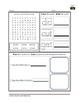 1st Grade Language Arts Worksheet Pack (November) {Common Core Aligned}
