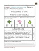 1st Grade Language Arts Worksheet Pack (October) {Common C