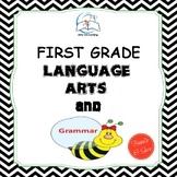 1st Grade Language Arts and Grammar BUNDLE
