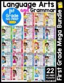 1st Grade Language Arts and Grammar GROWING BUNDLE!