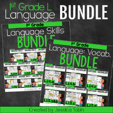 1st Grade Language Domain Bundle