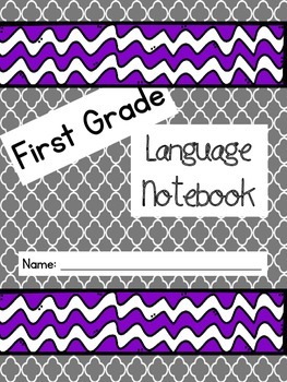 1st Grade Language Journal