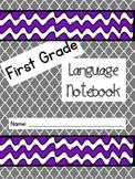1st Grade Language Journal