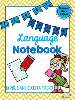 1st Grade Language Notebook: Interact, Teach, Practice, and Write!