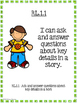 """1st Grade Learning Objectives - """"I can"""" Posters"""