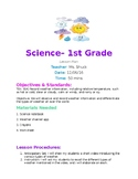 1st Grade Lesson Plan- Weather