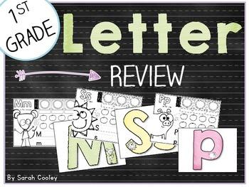 1st Grade Letter Review